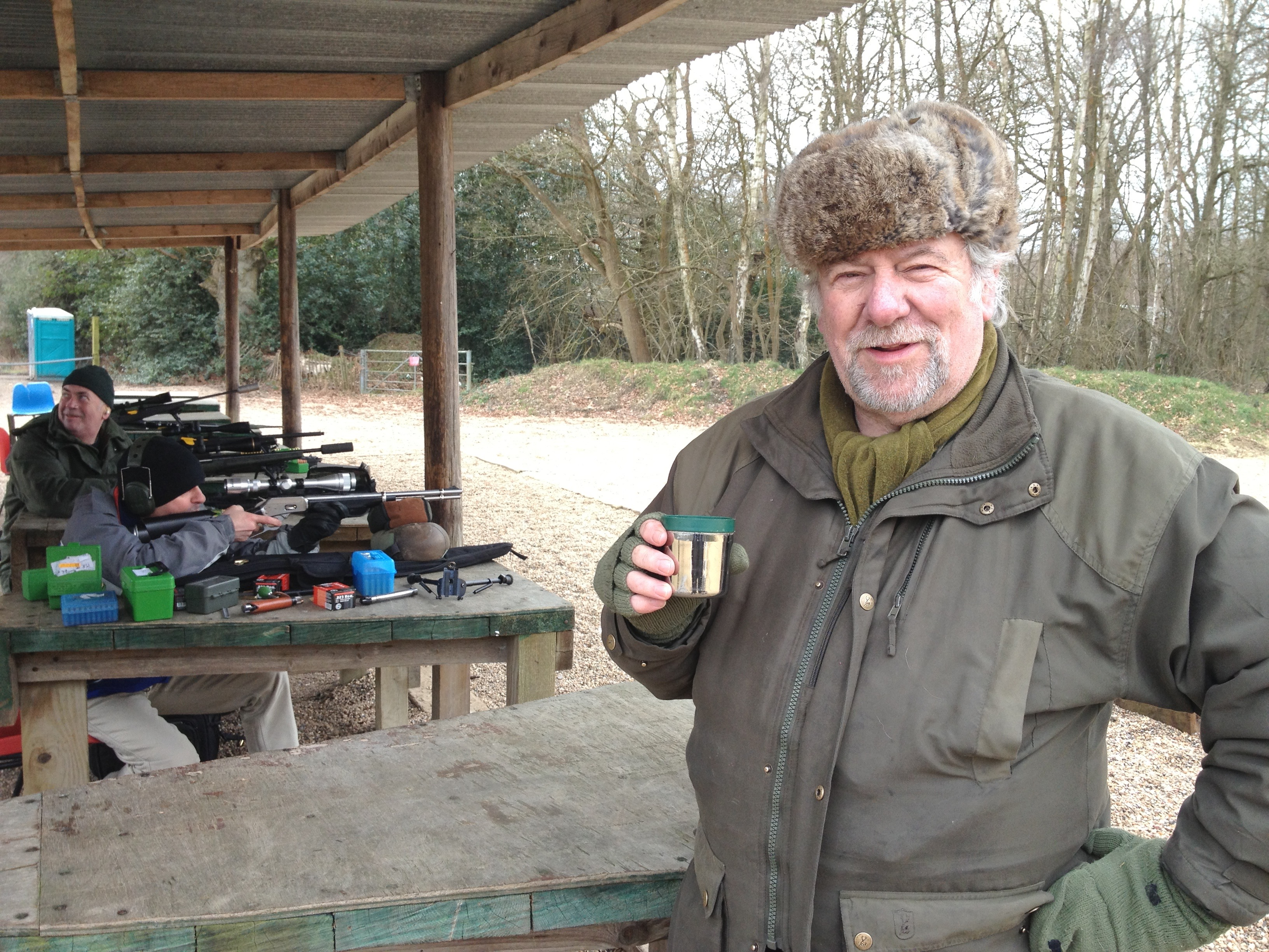 Mike Wells at Bisley
