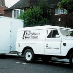 Sportsmans Association Land Rover and Trailer