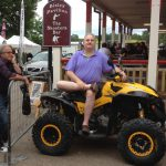 Savas on Quad bike