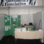Sportmans Association Show Stand