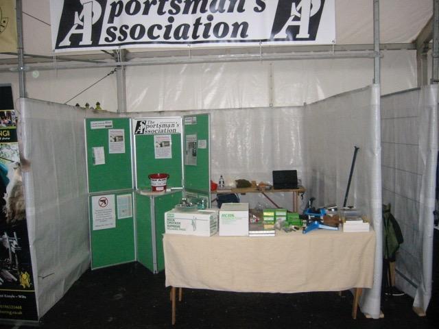 Sportmans Association Show Stand