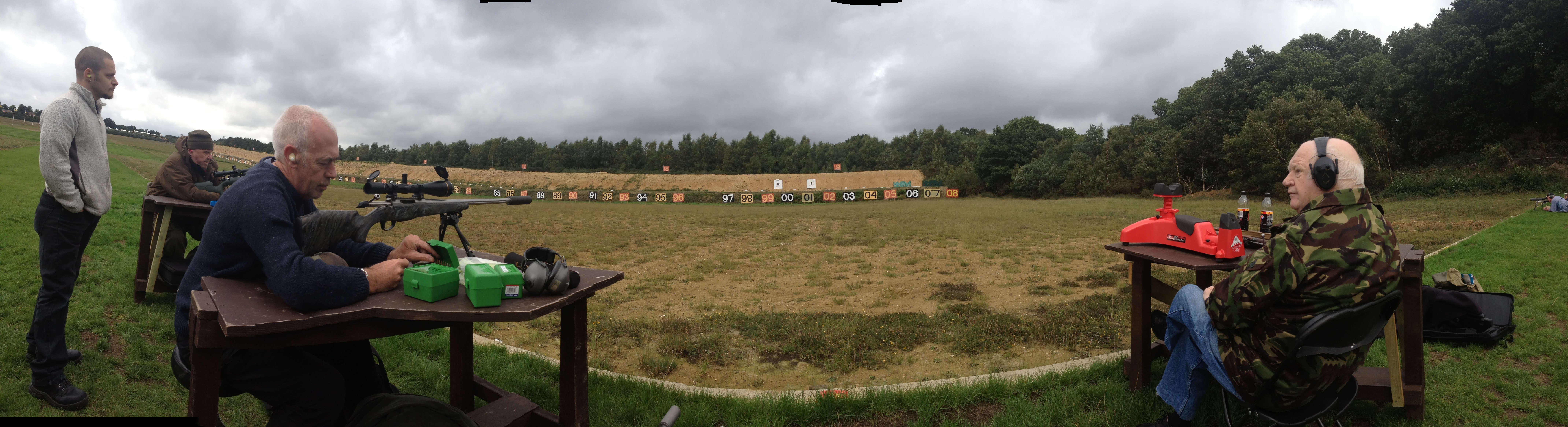 ladies olympic team.Panorama Century Range Bisley